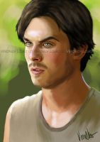 Ian Somerhalder by verkoka