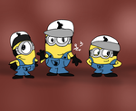 Chocolate Minion factory by ChickenCakes