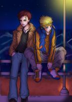 ::NaruGaColor_For Archie:: by shiroi-nami