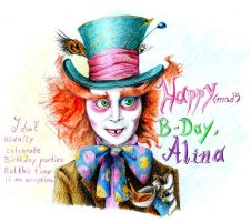 Alina In Wonderland -B-Day- by LGun92
