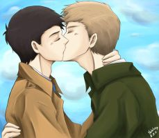destiel by Martelca