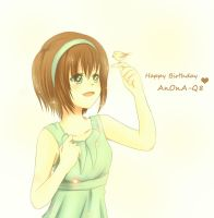 Late HBD : AnOnA-Q8 by Pluvias
