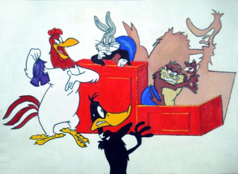 Looney Tunes Court by navdepp