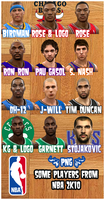 NBA 2K10 some PNG players by Archer120