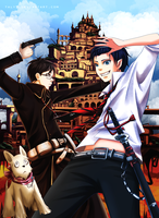 Ao no exorcist by Taly5