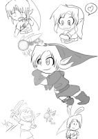 Link Sketches for New comic by dnxlightangel