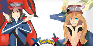 Pokemon X And Y by cdblue