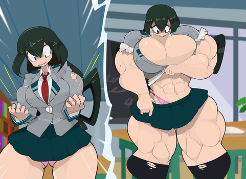 Pro Hero Tsuyu Asui by Commoddity