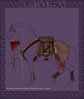 A2024 FHS's The Bounty Hunter Dragon Tack by 11IceDragon11