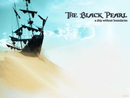 Black Pearl Wallpaper by evionn