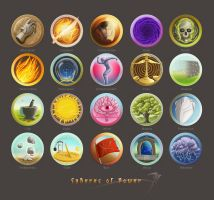 Spheres of Power sample sheet by SirInkman