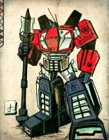 Optimus Prime WFC by dcjosh