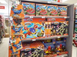 (Skylanders) Megablocks Section by KrazyKari