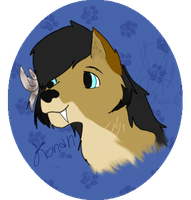 Konan Headshot-Gift for KateTLK by Karu12