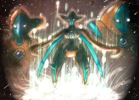 Destiny Deoxys - Revised by DarkSerena
