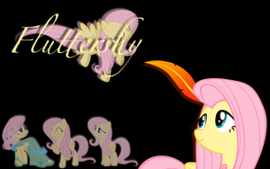 Fluttershy Wallpaper by RainbowDash180