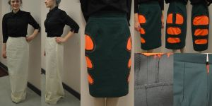 Completed Skirt by DisapointedTeaTowel