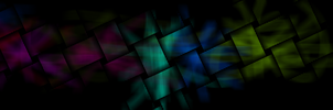 Colour Mosaic 5760x1080 by crackruckles