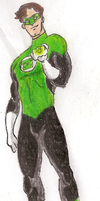Green Lantern: Hal Jordan by Mbecks14