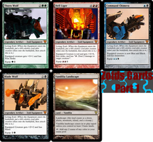 Zoids MTG Cards by Ozzlander