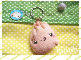 The dumpling keychain by kasatchi