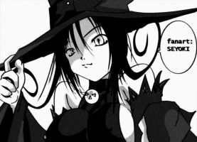 Witch Blair Soul Eater by hannsamu