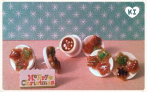 Mini Christmas Cookie Platters by kicat