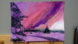 alaska sunlight - almost done! by muridaee