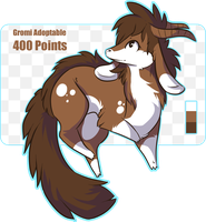 Gromi ADOPTABLE: CLOSED by Malisu