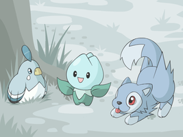 Snow Babies by cobaltdragon