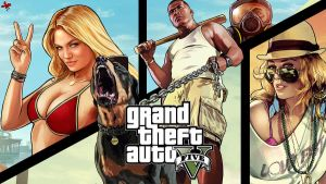 Grand Theft Auto V - Wallpaper by SendesCyprus