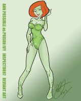 Ann Possible as Poison Ivy by Inspector97