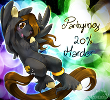 :CM: Partying 20% Harder! by Desiree-U