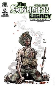 Soldier Legacy issue 6 Cover by pmason83