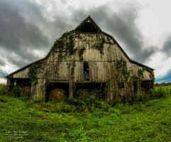 Country Barn HDR II by SparkVillage