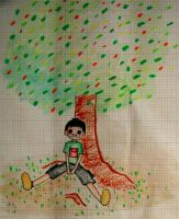 Upale and the little tree by Swielly