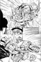 IDW Transformers 11 page 18 by GuidoGuidi