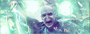 I Am Lord Voldemort Horizontal by Sklarlight