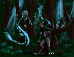 In the Forest Night by Saronicle
