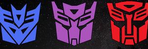 Autobots + Decepticons by unusable
