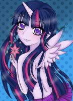 Twilight Sparkle Human by CherryBwk