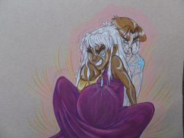 Milo and Kida - Birth of the Prince: Atlantis by FoxDragonLover