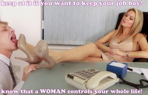 a WOMAN controls his life by GirlzRuleOwnFuture