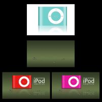 iPod and Water Drops tutorial by SaliroO