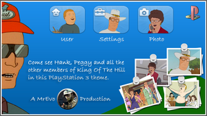 King Of The Hill PS3 Theme Blu by Mr-Evo