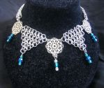 Jester's Lace necklace by enchantress13