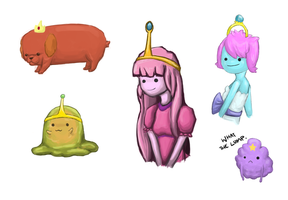 ADVENTURE TIME: Princess Dump by bluemarshmallows