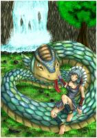 Contest - AMH Group Snake and Girl by HensenFM