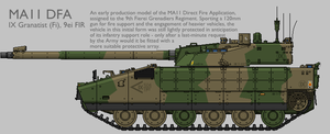 MA11 MAV(T) DFA Production Standard 1 [Coloured] by SixthCircle