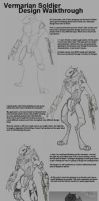 Vermarian Soldier Design Walkthrough by DKDevil